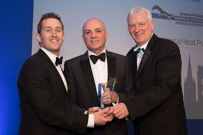 Shropshire Rural Housing Association & Kensa Heat Pumps - Best small client